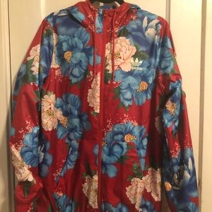 Adidas Floral Activewear Jacket